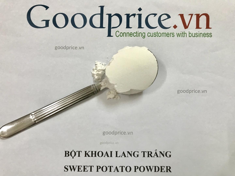 Bột khoai lang trắng chất lượng cao