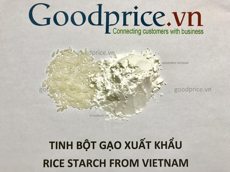 Tinh bột gạo dạng hạt