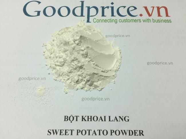 bột khoai lang trắng