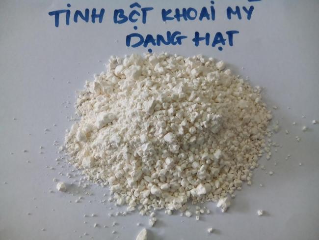 tinh bột mì dạng hat