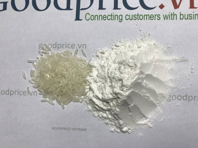 bột gạo chín