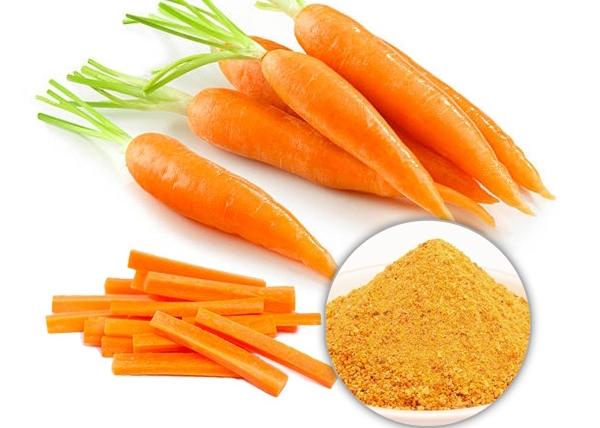 6 bí quyết làm đẹp da với Bột Cà Rốt