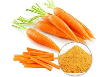 Cách làm bột cà rốt tại nhà