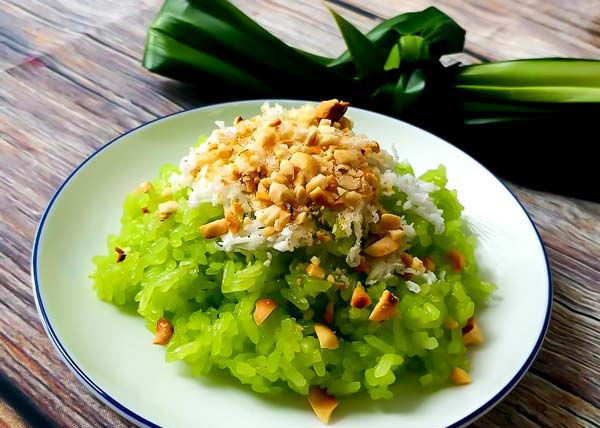 How to use Pineapple Leaf Powder to make dishes more beautiful