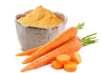 Lợi ích của bột cà rốt