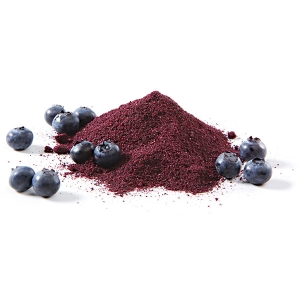 Blueberry powder 100% pure