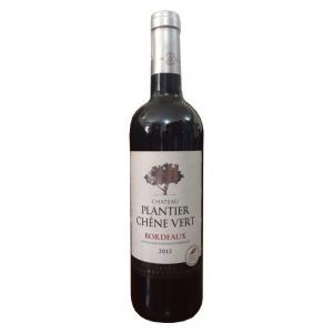 Rượu vang Chateau Plantier Chene Vert Bordeaux - 2012 nhập khẩu