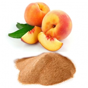 Peach fruit flavor powder for food high quality