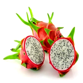 Fresh dragon fruit white flesh vietnam