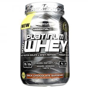 Sữa tăng cơ Platinum 100% Whey (908g)
