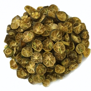 Dried calamansi slices