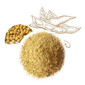 Soybean residue
