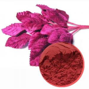 Magenta leaf powder