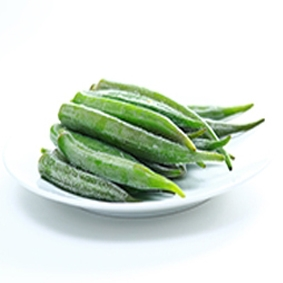 Frozen okra from viet nam with best price and high quality