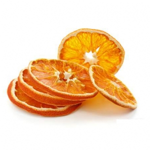 Dried orange slices high quality